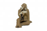 Figurine, Sitting Man (Large)